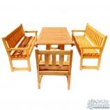 Мебель для беседки из массива сосны
